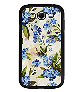 Fuson Designer Back Case Cover for Samsung Galaxy Grand Neo Plus I9060I :: Samsung Galaxy Grand Neo+ (Purple Flowers Floral Bouquet Branches Flower Twigs)