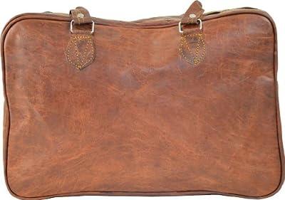 Gusti Leder M25 - Bolso estilo vintage, color marrón