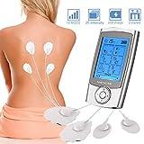 Nitoer EMS TENS elektrostimulator tens massagegerät elektrostimulator TENS Massagegerät mit Voreingestellte Massagemodi und 8 Elektrodenpads zur Schmerzlinderung und Rehabilitation