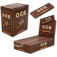 PAPEL OCB VIRGIN 78MM 50 HOJAS (CADA ESTUCHE CONTIENE 100 LIBRITOS)