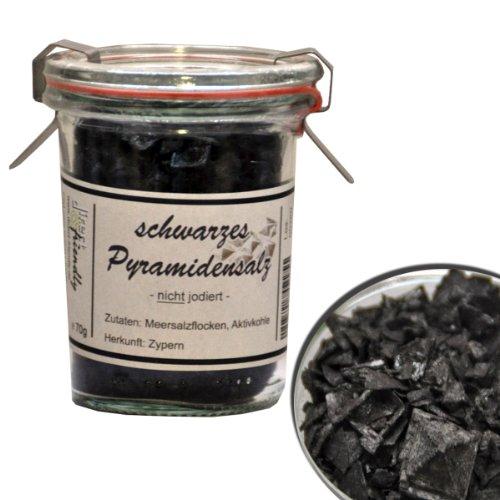 Preisvergleich Produktbild direct&friendly schwarzes Pyramidensalz aus Zypern