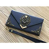 Octopus envelope leather wallet handmade phone wallet case cover for iPhone X XS XR XS Max iPhone 8 7 6 6s Plus Samsung Galaxy S7 Edge Galaxy S8 S9 S10 Plus Note 8 Note 9 MN0110