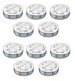 Uhrenbatterie Renata Swiss Made Renata 379 oder SR521SW OR AG0 1.5V (10 x 379 oder SR 521 SW)