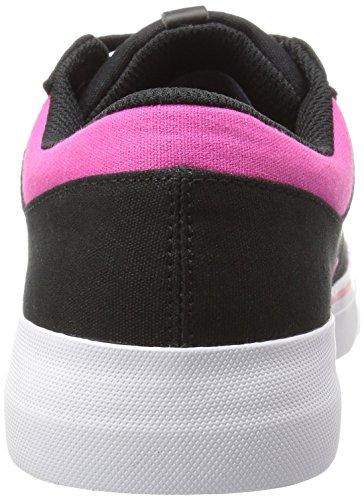 DC Shoes, Scarpe da Skateboard donna Nero/Fucsia