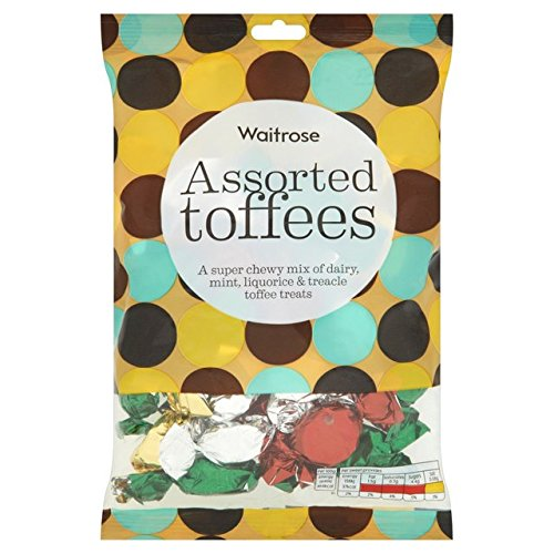 Assorted Toffees Waitrose 225g (Assorted Pralinen)