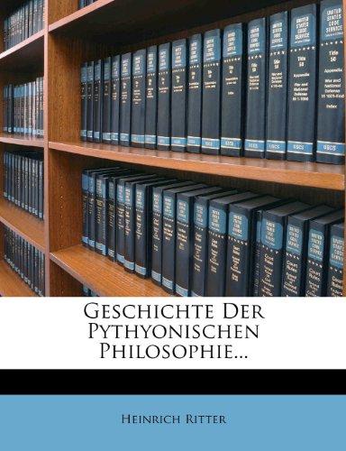 Geschichte der pythagorischen Philosophie