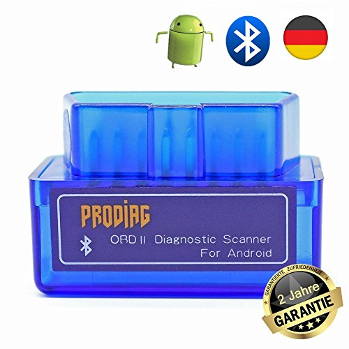 Check-engine Reader Licht Code (PRODIAG Mini BPRODIAG Mini Bluetooth OBD2 OBDII EOBD Scanner Adapter Automotive Check Engine Licht Diagnose Code Reader für Android)