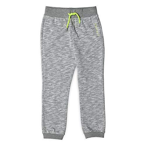 ESPRIT KIDS Jungen Knit Pants Sporthose, per Pack Silber (Heather Silver 223), 104 (Herstellergröße: 104+)