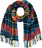 PIECES Damen Schal PCFIAN Long Scarf, Mehrfarbig Legion Blue, One Size
