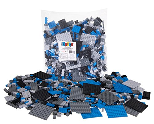 Strictly-Briks-Premium-Black-Blue-Gray-and-Dark-Gray-Space-Themed-Building-Brick-and-Platform-Set-1-000-Piece-9-shapes-Compatible-with-All-Major-Brands
