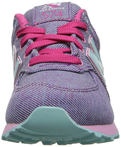 New Balance Classic Traditionnels Purple Youths Trainers Purple