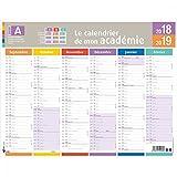 OBERTHUR–1Wandkalender Jährliche Mein Akademie–43x 33,5cm–September 2018bis September 2019