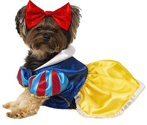 Rubie 's Disney: Princess Kostüm für Haustiere, Snow White, X-Large (Disney Princess-hund Halloween-kostüme)