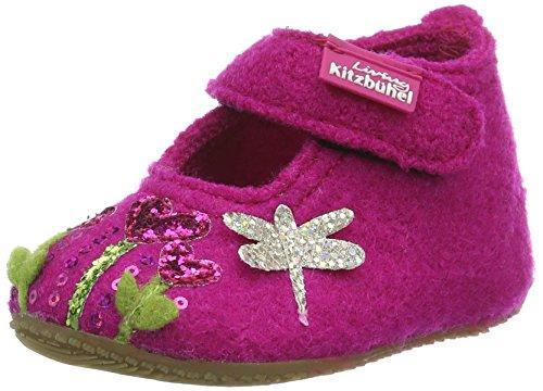 Living Kitzbühel Babyballerina Schmetterling Und Herzblume, Chaussures Marche Bébé Fille