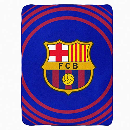 FCB Manta Forro Polar Oficial FC Barcelona La Liga