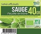 Tisane Sauge feuille Bio (Salvia Officinalis) - 40 g