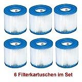 INTEX Pool-Filterkartuschen Typ H 6 Stück Kartusche Filterpumpe Pumpe Filter Filterkartusche