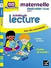 Activités de lecture maternelle Grande section