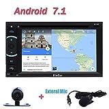 Backup-Kamera inklusive! Android 7.1 Auto-Stereo Quad-Core-Auto-DVD-Player-Unterst¨¹tzungs-GPS-Navigation Bluetooth Autoradio WIFI OBD 3G 4G FM AM RDS-Radio aktiviert mit 6,2-Zoll-Touchscreen Unterst¨¹tzung Split Screen Multitasking!