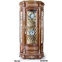 Casa-Padrino Baroque Display Cabinet 86 x 48 x H. 186 cm - Noble & Sumptuous - Comparador de precios