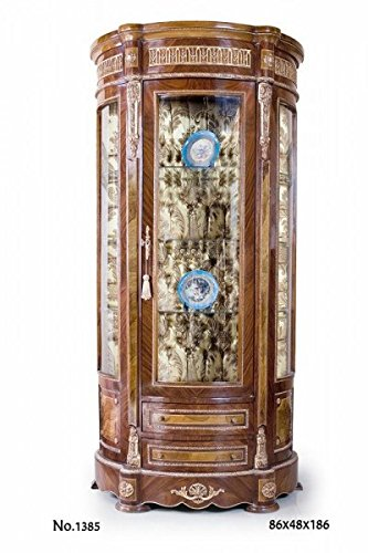 CASA PADRINO BAROQUE DISPLAY CABINET 86 X 48 X H  186 CM - NOBLE & SUMPTUOUS
