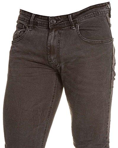 BLZ jeans - Jean schlank schwarz gewaschen Grund Schwarz