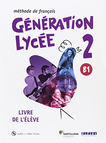 Generation lycee a2/b1 eleve+cd+dvd