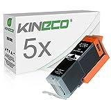 5 Tintenpatronen Kompatibel zu Canon PGI-550PGBK XL 6431B001 IP-7200 7250 8700 8750 IX-6800 6850 MG-5400 5450 5500 5550 6300 6350 6400 6450 71007150 MX-720 725 920 Series 925