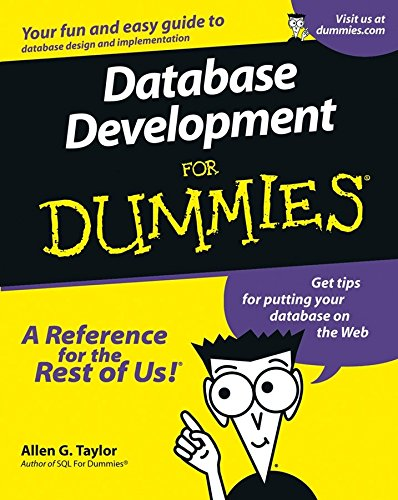 [(Database Development For Dummies)] [By (author) Allen G. Taylor] published on (November, 2000)