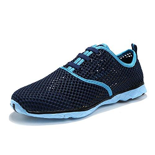 Cystyle, Chaussures De Plongée Pour Homme Bleu / Gris 34 Eu = Asien 35 Marineblau