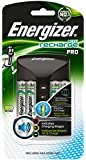 Energizer Pro Charge AA/AAA Battery Charger with 2000 mAh AA Rechargeable Batteries