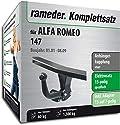 Rameder Komplettsatz, Anhängerkupplung starr + 13pol Elektrik für ALFA Romeo 147 (112661-04735-1)