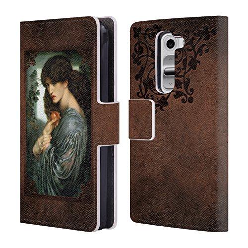 Offizielle Brigid Ashwood Rossetti 3 Präraffaeliten Brieftasche Handyhülle aus Leder für LG G2 mini / D618 Dual SIM