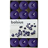 Bolsius - Velitas perfumadas, aroma de arándanos, 30 unidades, color violeta