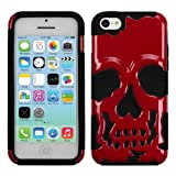 Best Mybat 5c Phone Cases - MyBat Skullcap Hybrid Protector Cover for iPhone 5C Review