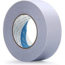 25M White No Residue Double Sided Carpet Tape Edging Roll Outdoor Mat Rug Tape Strips 30MM*25M