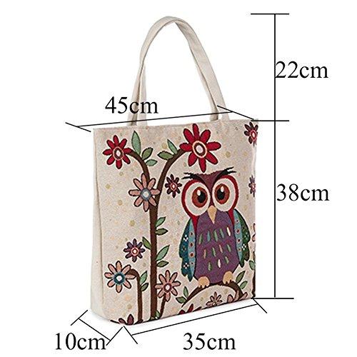 Paramount City - Sacchetto Bambina Donna Unisex – Adulto Owl Recomendar Venta Barata Populares Costo De La Venta Barata ZldcGjrOb