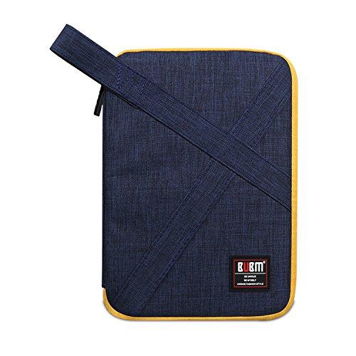 Elektronische Zubehör Tasche für Universal Kabel USB Wasserdicht Nylon Reise Digitale Produkt Organizer Case für Festplatte Ladegerät Handtasche blau Medium