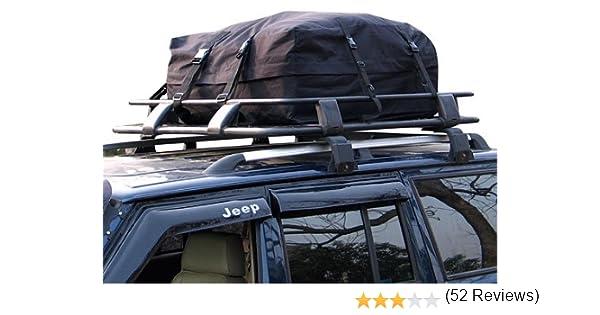 340 Litre Car Roof Rack Cargo Bag Soft Top Box Amazoncouk Motorbike