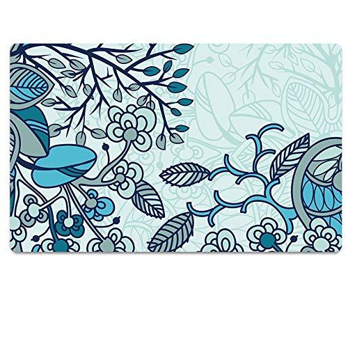 mer Teppich Küchenmatte Badezimmer Wasser absorbierende Antirutschmatte Fußmatte Fußmatte 8 ()