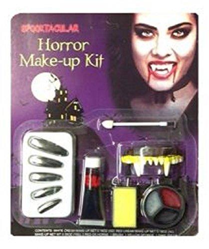 Halloween Vampirin Horror Make-up Kit (Halloween Makeup Reißverschluss Kit)