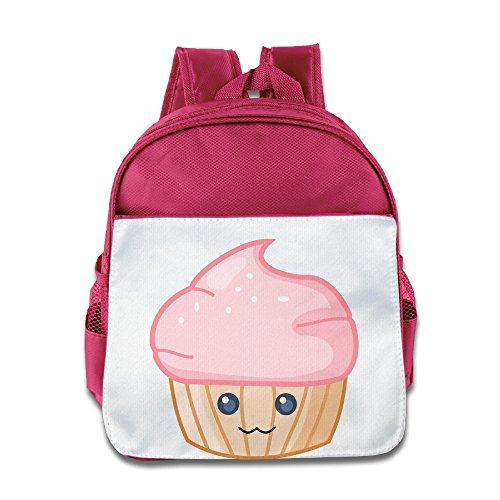Süße Cupcake Kindergarten Schultertasche rosa rose Einheitsgröße