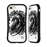 Head Case Designs Ufficiale Christos Karapanos Dragoni Fantasia Case Ibrida per iPhone 7/iPhone 8