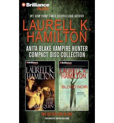 Laurell K. Hamilton Anita Blake Vampire Hunter CD Collection 2: The Harlequin, Blood Noir (Anita Blake, Vampire Hunter) (CD-Audio) - Common
