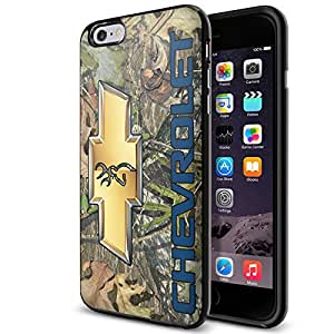 Camouflage Chevrolet Logo Cerf Logo iPhone et Samsung Galaxy Étui en TPU (iPhone 6 Plus noir)