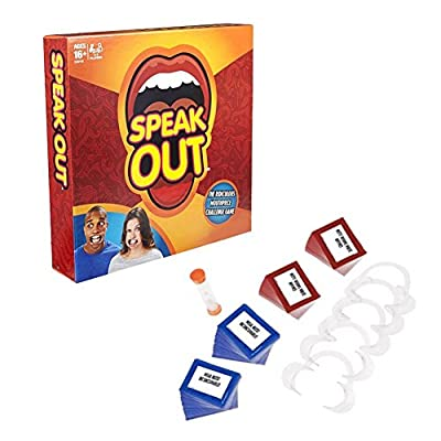 Mouthguard Challenge Game,Generic Mouthpiece Game Adult Phrase Card Game Expansion Pack Family and party Fun Game