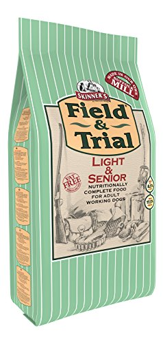 Skinner's Field & Trial – Complete Dry, Less Active & Old Dogs (Light and Senior, 2.5 kg)