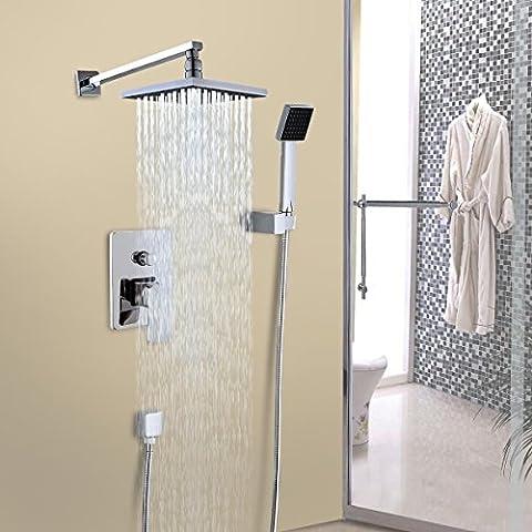 Generic dyhp-a10-code-2198-class-1-- cabeza unidad de juego de cuarto de baño grifo de la ducha Set 8
