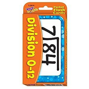 Tendencia Empresas T-23018 Bolsillo Flash Cards Division-3 X 5 Tarjetas DE 56 Dos Caras