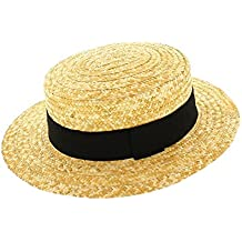 Votrechapeau-Sombrero de paja-Canotier-auténtica cfc8f2116ba